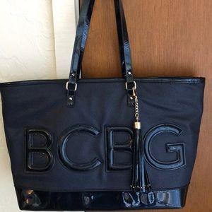 BCBG-authentic tote.
